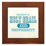 Holy Grail University Framed Tile