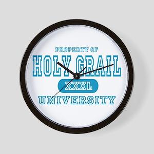 Holy Grail University Wall Clock
