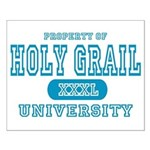 Holy Grail University Small Poster
