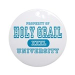 Holy Grail University Ornament (Round)