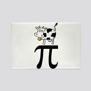 Cow Pi Rectangle Magnet (10 pack)