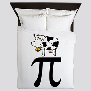Cow Pi Queen Duvet