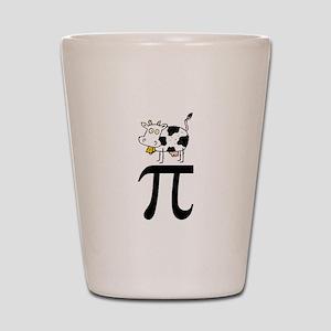 Cow Pi Shot Glass