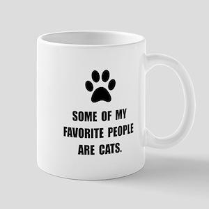 Favorite People Cats Mug