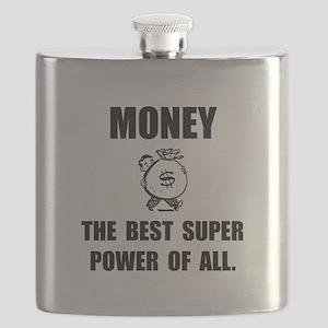 Money Super Power Flask