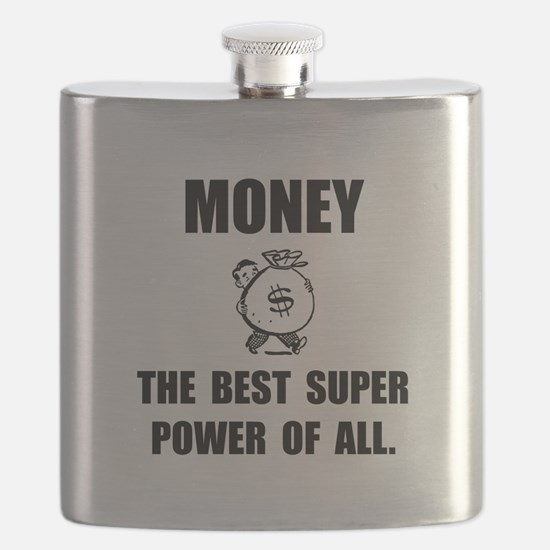 Money Super Power Flask