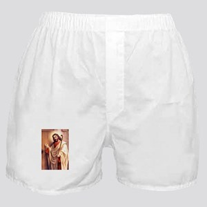 Jesus at Door Boxer Shorts