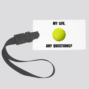 My Life Tennis Luggage Tag