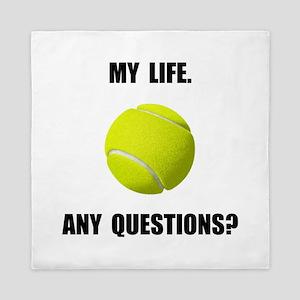 My Life Tennis Queen Duvet