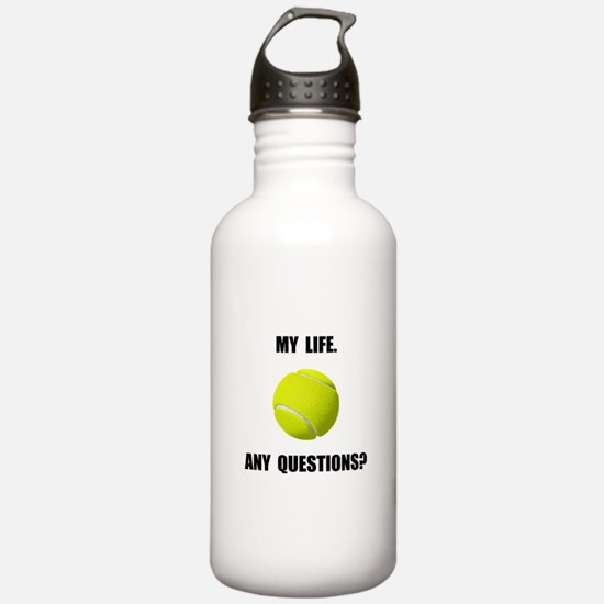 My Life Tennis Water Bottle