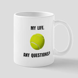 My Life Tennis Mug