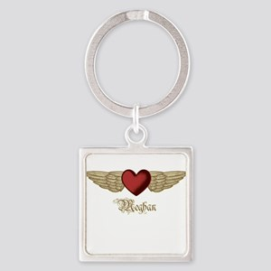 Meghan the Angel Square Keychain