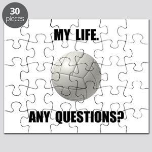 My Life Volleyball Puzzle