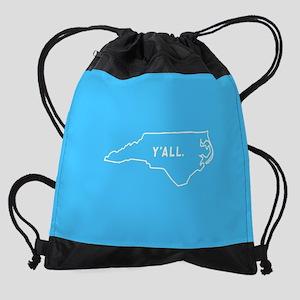 North Carolina Y'all Drawstring Bag