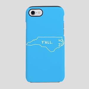 North Carolina Y'all iPhone 7 Tough Case