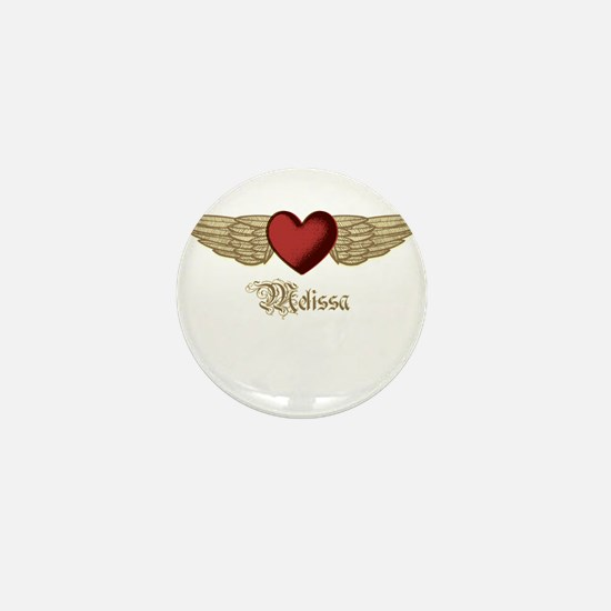 Melissa the Angel Mini Button