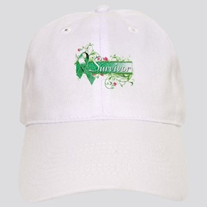 Survivor Floral copy Baseball Cap