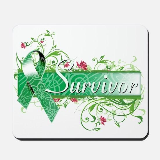 Survivor Floral copy Mousepad