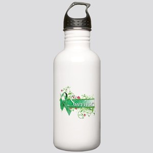 Survivor Floral copy Water Bottle