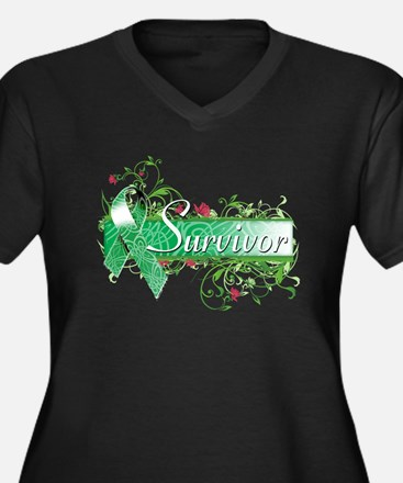 Survivor Floral copy Plus Size T-Shirt
