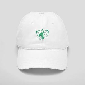Hope Love Faith Heart copy Baseball Cap