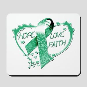 Hope Love Faith Heart copy Mousepad