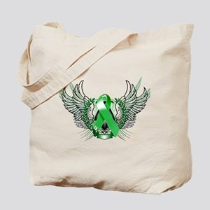 Awareness Tribal Green copy Tote Bag