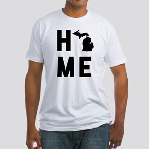 Michigan Home Fitted T-Shirt