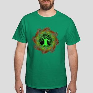 Celtic Tree (2gr) Dark T-Shirt (9 colors)