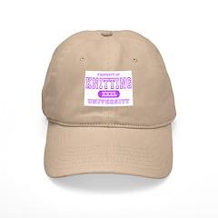 Knitting University Baseball Cap