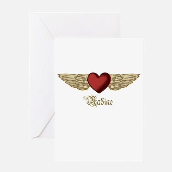 Nadine the Angel Greeting Card