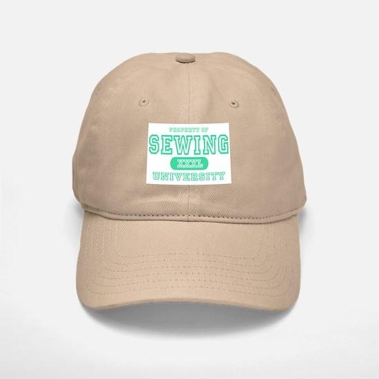 Sewing University Baseball Baseball Cap