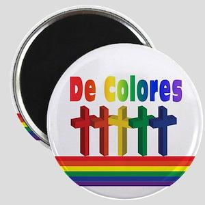 Marching Crosses De Colores Magnet
