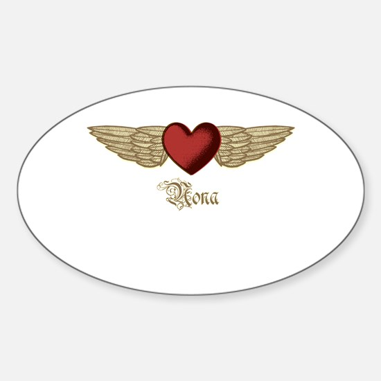 Nona the Angel Decal