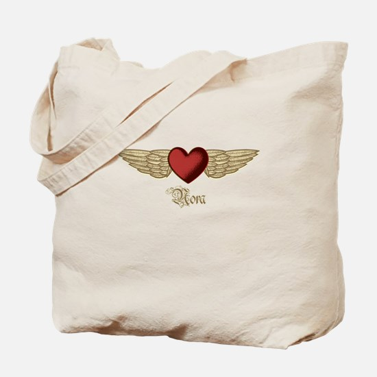 Nora the Angel Tote Bag