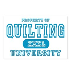 Quilting University Postcards (Package of 8)