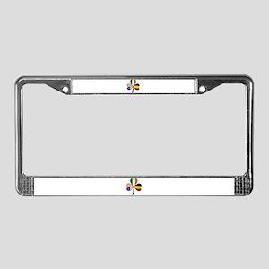 Shamrock of Belgium License Plate Frame