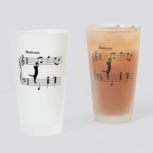 Cat Jumping to Note Drinking Glass