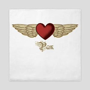 Pam the Angel Queen Duvet