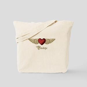 Penelope the Angel Tote Bag