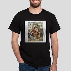 Jesus and the Children Dark T-Shirt