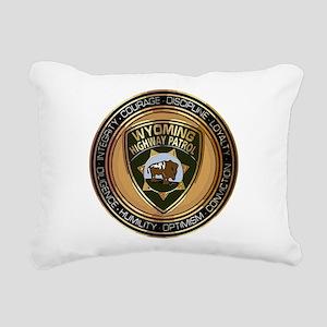 Wyoming HP logo Rectangular Canvas Pillow
