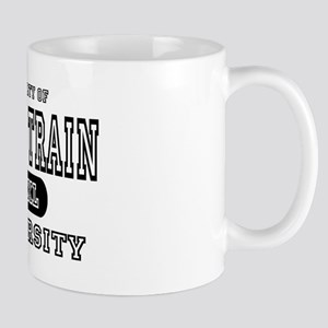 Model Train University Mug