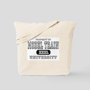 Model Train University Tote Bag