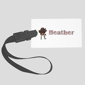 Heather Large Luggage Tag