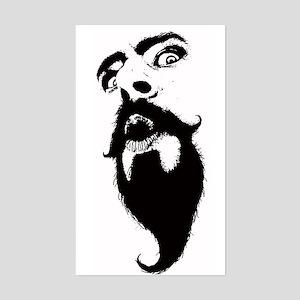 Weirdo With A Beardo Sticker