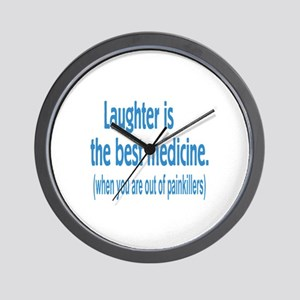 Is Laughter Best Medicine? Wall Clock