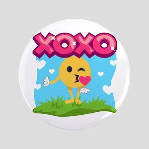Emoji Smooches Button
