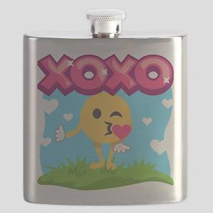 Emoji Smooches Flask