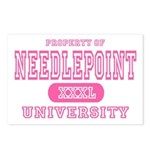 Needlepoint University Postcards (Package of 8)